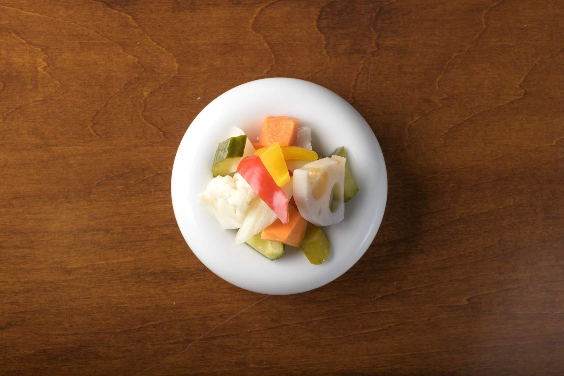 野菜のピクルス